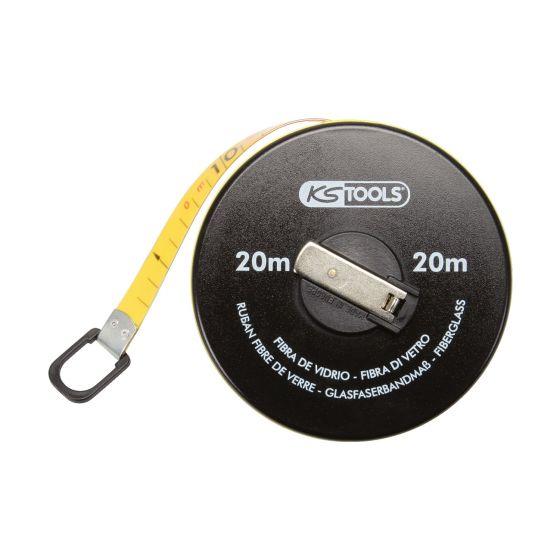 Mesures roulantes à ruban fibre KS Tools
