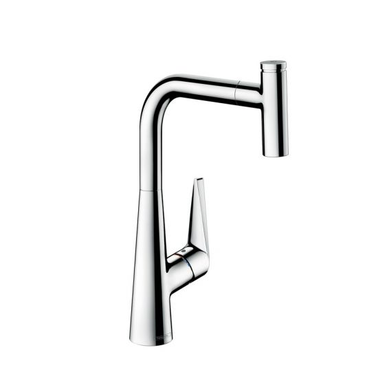 Mitigeur évier Talis Select S 300 douchette extractible - Hansgrohe 72821800