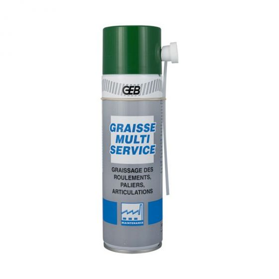 Aérosol graisse multiservice 500ml - GEB