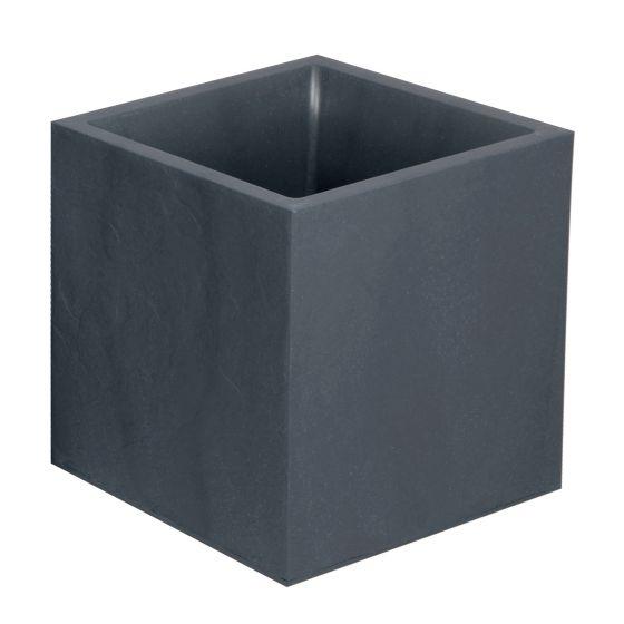 Bac VOLCANIA Gris anthracite - carré 39,5 x 39,5 x 43,5 cm - 31L