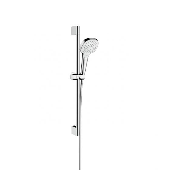 HANSGROHE Set Croma Select E110 EcoSmart Vario Unica'Croma 0.65m Blanc/Chrome 26583400