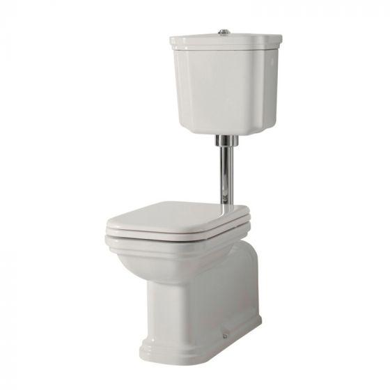 95bb3b87e97de3 Pack WC complet à réservoir mi-haut WALDORF sortie horizontale ou verticale  - Cristina Ondyna