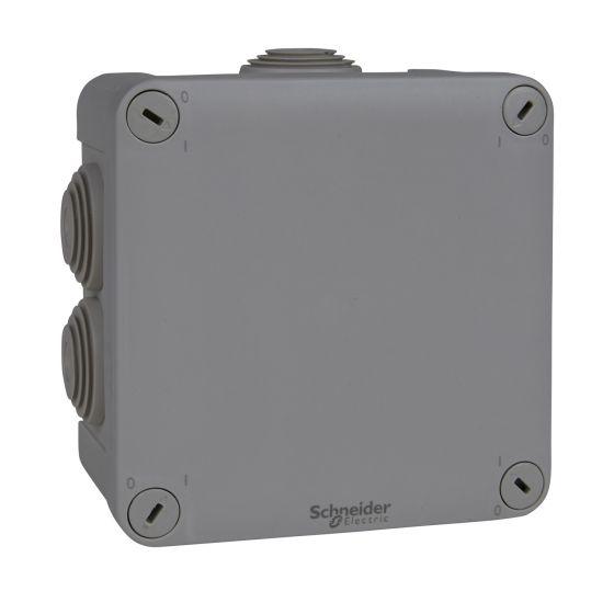 Boîte de dérivation Mureva Box carrée 105x105x45mm - IP55 - ENN05005