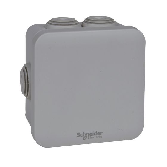 Boîte de dérivation Mureva Box carrée 80x80x45mm - IP55 - ENN05004