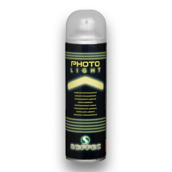 Bombe PHOTO LIGHT peinture photoluminescente jaune