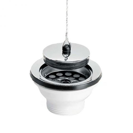 bonde lavabo bouchon chainette 65mm nicoll. Black Bedroom Furniture Sets. Home Design Ideas