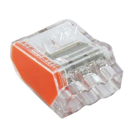 150 Bornes de connexion 3 fils 1 à 2.5mm²
