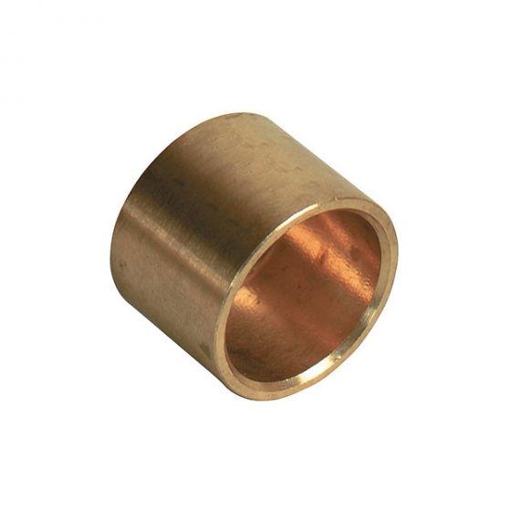 Bouchon fin de colonne à braser sur tube cuivre Ø35