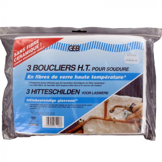 Bouclier thermique Haute Température (sachet de 3)