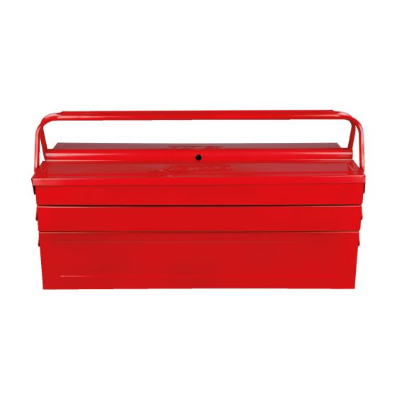 Caisse à outils métallique, 5 compartiments H190xL420xB200 mm KS Tools 999.0120
