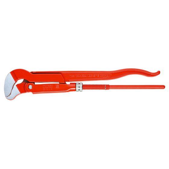 Clé serre-tubes 45° forme S Ouverture 60mm Knipex