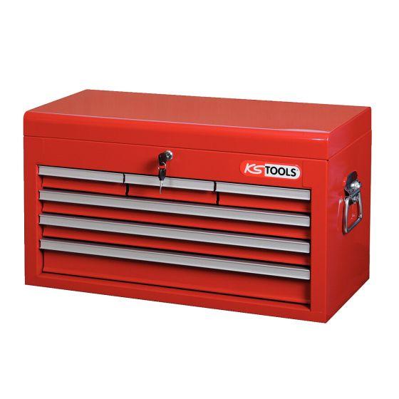 Coffre à outils avec 6 tiroirs et plateau KS Tools 891.0006
