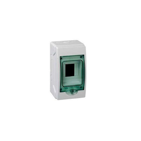 Coffret étanche mini Kaedra IP65 - 4 modules - 1 rangée