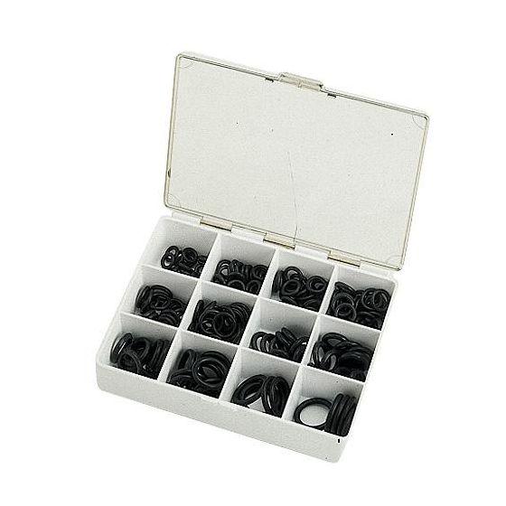 Coffret joint torique noir assortis - N°13 à 24 - 200 pièces