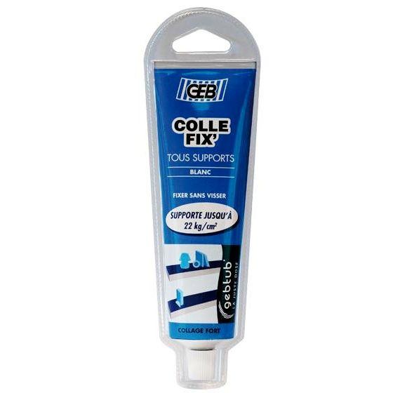 COLLE FIX' : pour fixer sans percer - Tube 100ml