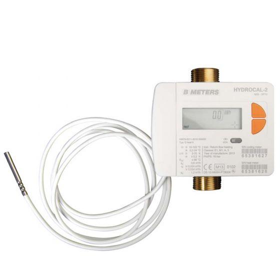 """Compteur d'énergie MID R50 (calories et frigories) Calibre 15 - Mâle 3/4"""" (20x27)"""