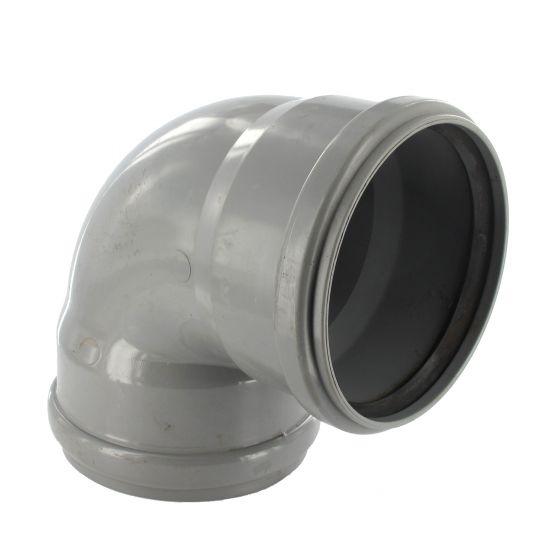 Coude PVC 87°30 assainissement FF