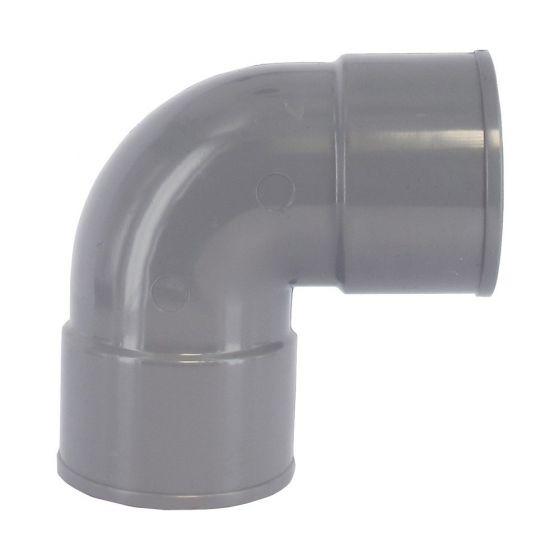 Coude PVC 87°30 Femelle/Femelle - First Plast