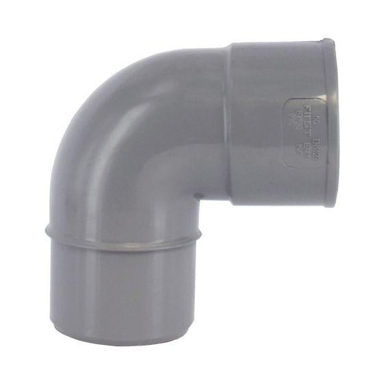 Coude PVC 87°30 Mâle/Femelle - First Plast