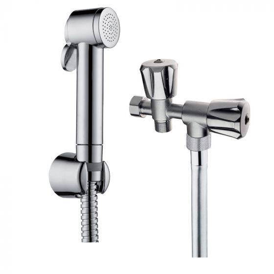 Douchette à impulsion WC chromé - Ondyna WC90251