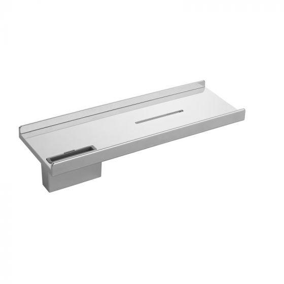 Porte-savon pour barre Mixa chromé - Ondyna PS11651