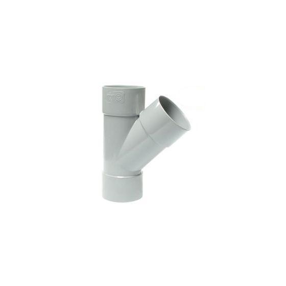 Culotte PVC 45° Femelle-Femelle FIRST-PLAST