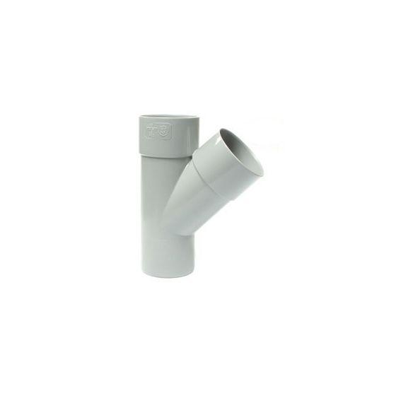 Culotte PVC 45° Mâle-Femelle FIRST-PLAST