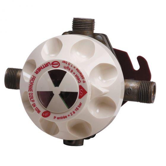D2ILP Détendeur inverseur limitateur propane + indicateur