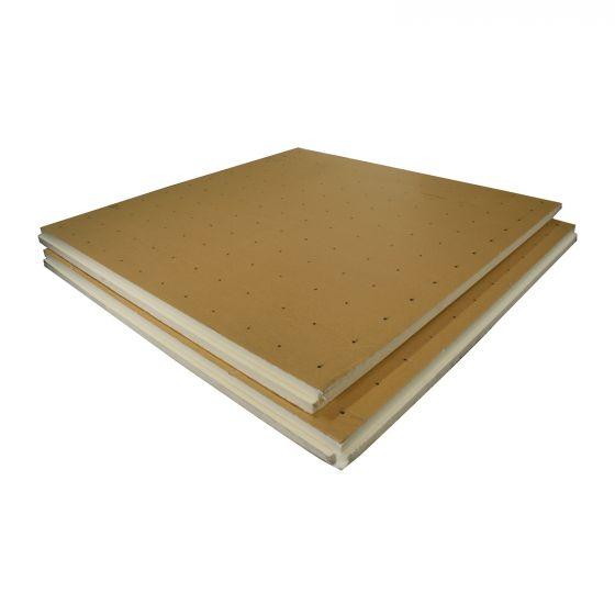 Dalle lisse polyuréthane R1,35 Ep.30mm - Lot de 16 plaques (18,72m²)