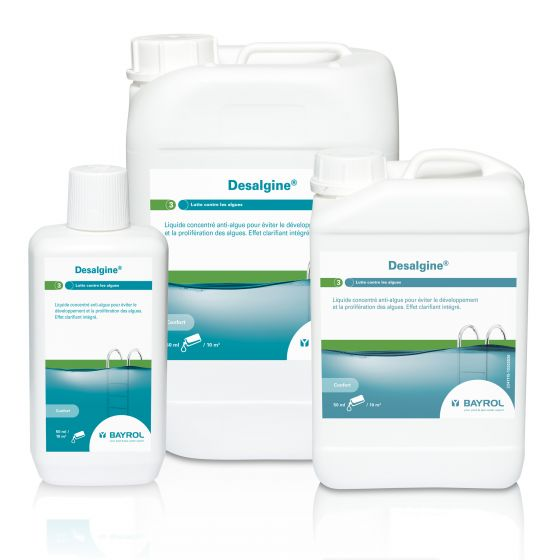 Desalgine - Anti-algues piscine eau claire - BAYROL