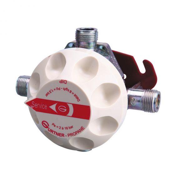 DILP Détendeur Inverseur Limitateur Propane NF - 20kg/h 1,5 bar
