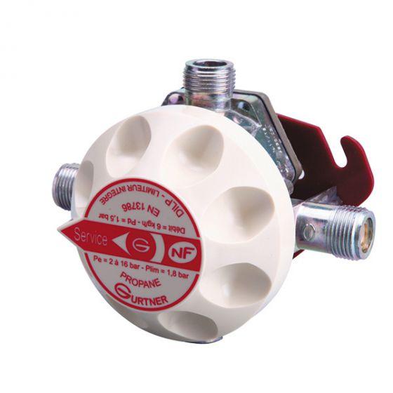 DILP Détendeur Inverseur Limitateur Propane NF - 6kg/h 1,5 bar