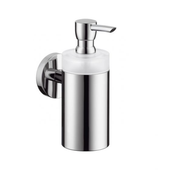 Distributeur de savon liquide chromé Logis