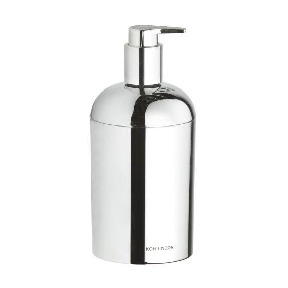 Distributeur savon KOH-I-NOOR CLASSIC à poser Ø7.5x15cm ABS Chromé