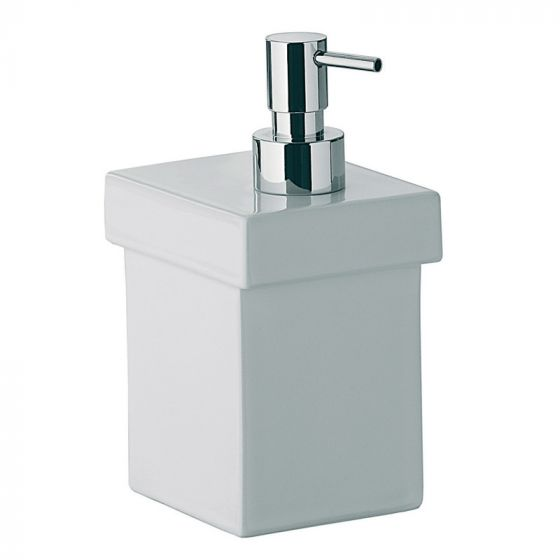 Distributeur savon liquide SKUARA en céramique