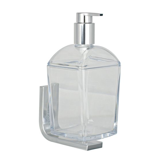 Distributeur de savon liquide adhésif mural Materia