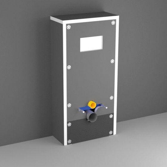 Easy Bati Technic habillage universel pour WC bâti-support - Lazer 391010