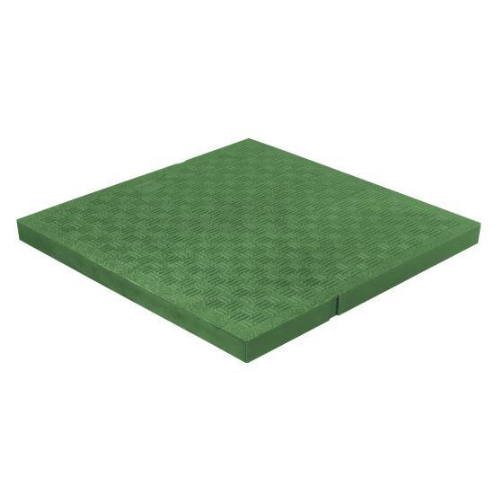 Tampon de sol léger PVC anti-choc - VERT - FIRST-PLAST