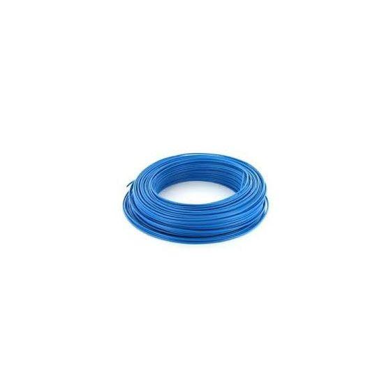 fil lectrique ho7vu ho7vr 1 5 mm bleu cable et gaine. Black Bedroom Furniture Sets. Home Design Ideas