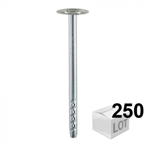 250 Chevilles DHM fixation métallique pour isolants - 5 modèles - Fischer