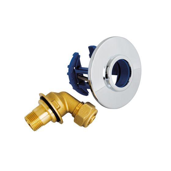 """FIXOPLAC (WC/Lave-Main) MONO PER Ø12 - M3/8"""" à Compression"""