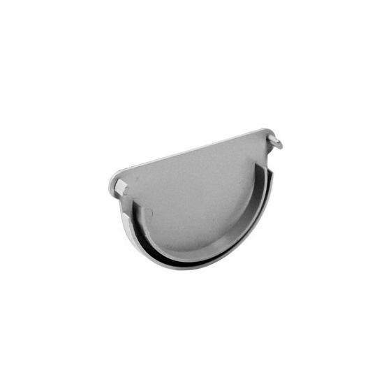 Fond de gouttière PVC 16 demi-ronde