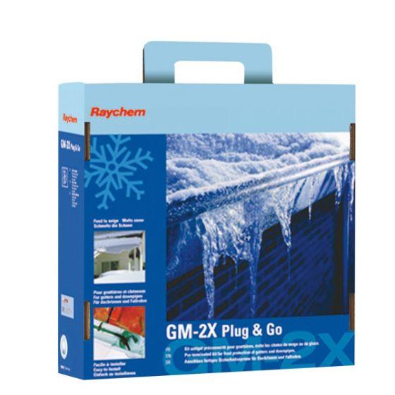 Kit GM-2X Plug&Go Hors gel chéneaux et gouttières - 5ml