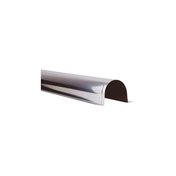 Goulotte INOX de protection 1ml - Largeur 60mm pour tube Ø22