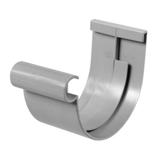 Jonction PVC 16 demi-ronde