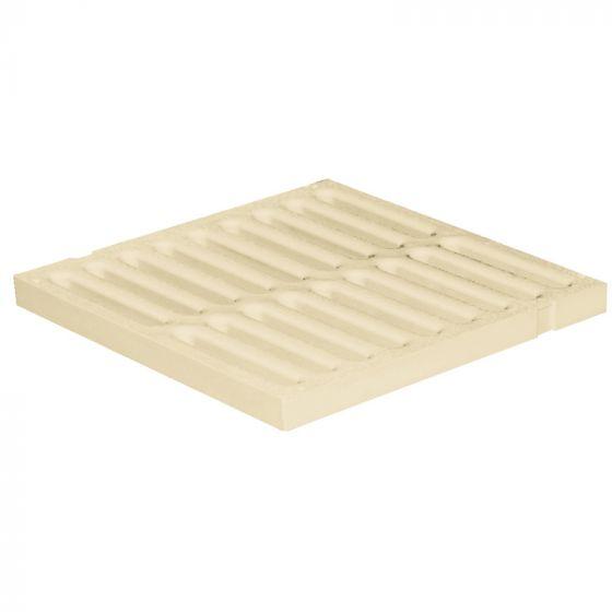 Grille de sol PVC légère anti-choc - SABLE - FIRST-PLAST