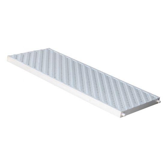 Grille piéton - piscine PVC anti-choc pour caniveaux Série 200