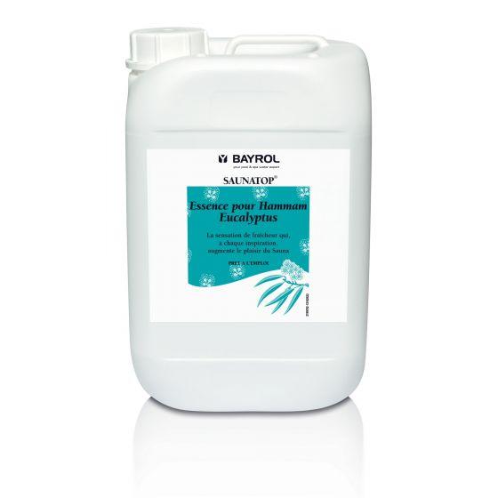 Huiles essentielles Eucalyptus SAUNATOP 6L pour Sauna et Hammam - BAYROL