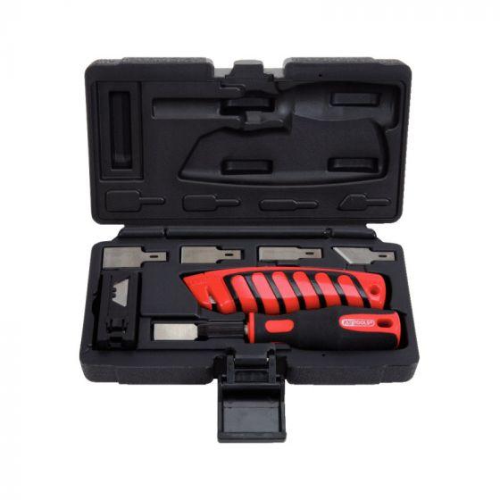 Jeu de grattoirs et cutters - 27 pcs KS Tools 907.2200