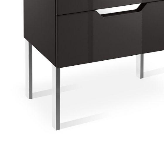 Jeu de 2 pieds de 327mm meuble KALAHARI-N